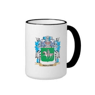 Mcguire Coat of Arms - Family Crest Ringer Coffee Mug