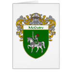 McGuire Coat of Arms (Mantled) Greeting Card