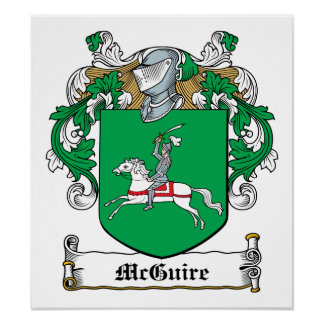 McGuire Family Crest Poster