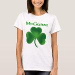 McGuire Shamrock T-Shirt