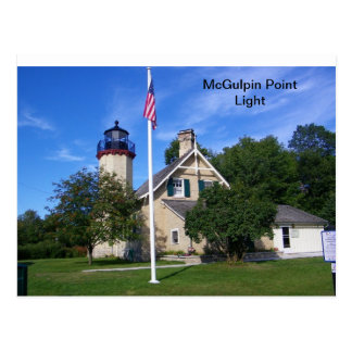 McGulpin Point Light Postcard