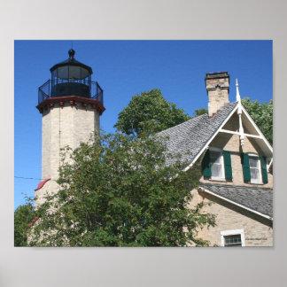 McGulpin Point Lighthouse - Michigan Poster