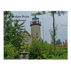 Mcgulpin Point Lighthouse Postcard at Zazzle