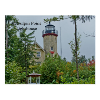 McGulpin Point Lighthouse Postcard