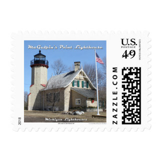 McGulpin's Point Lighthouse: 1st Class Postage