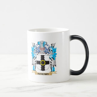 Mchenry Coat of Arms - Family Crest 11 Oz Magic Heat Color-Changing Coffee Mug