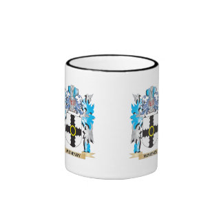 Mchenry Coat of Arms - Family Crest Ringer Coffee Mug