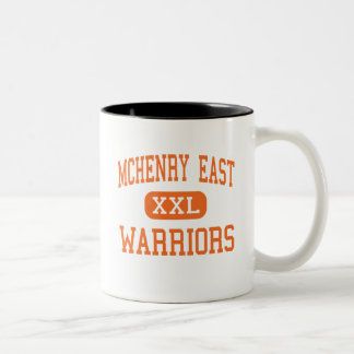 McHenry East - Warriors - High - McHenry Illinois Two-Tone Coffee Mug