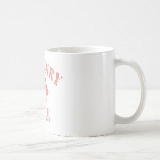 Mchenry Pink Girl Classic White Coffee Mug