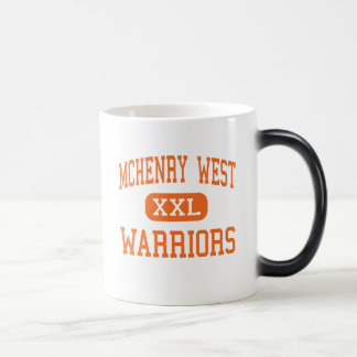 McHenry West - Warriors - High - McHenry Illinois 11 Oz Magic Heat Color-Changing Coffee Mug