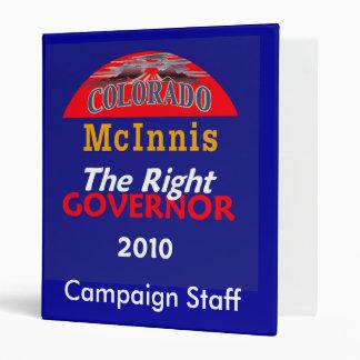 McINNIS Governor Avery Binder