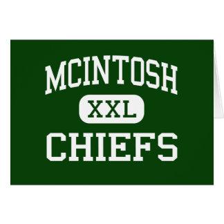McIntosh - Chiefs - High - Peachtree City Georgia Greeting Cards