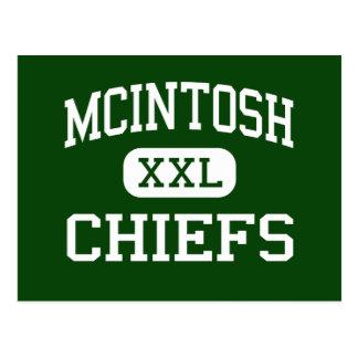 McIntosh - Chiefs - High - Peachtree City Georgia Post Cards