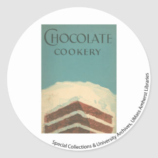 McIntosh Cookery Collection 2 Classic Round Sticker