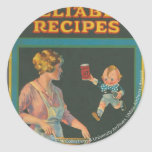 McIntosh Cookery Collection Round Stickers