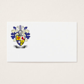 McIntosh Family Crest Coat of Arms Business Card
