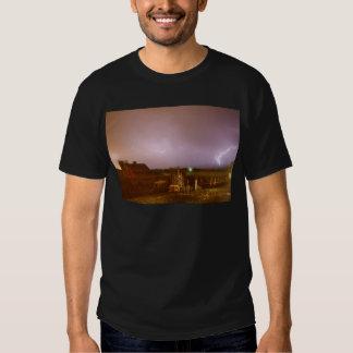 McIntosh Farm Lightning Thunderstorm View T Shirt