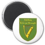 McKay 1798 Flag Shield 2 Inch Round Magnet