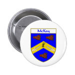McKay Coat of Arms/Family Crest 2 Inch Round Button