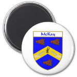 McKay Coat of Arms/Family Crest 2 Inch Round Magnet