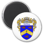 McKay Coat of Arms (Mantled) 2 Inch Round Magnet