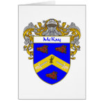 McKay Coat of Arms (Mantled) Card