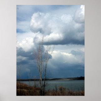McKay Dam - Lone Tree Poster