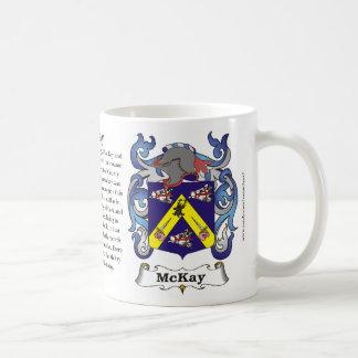 McKay Family Coat of Arms Mug