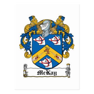 McKay Family Crest Postcard