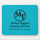 """McKay-Taggart Mouse Pad<br><div class=""""desc"""">Lexi Blake&#39;s McKay-Taggart Security Services logo mouse pad.</div>"""