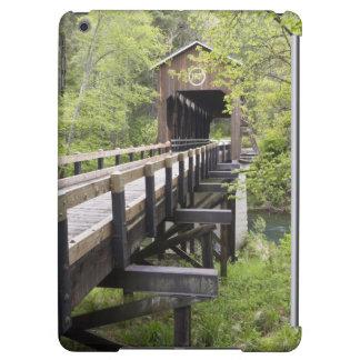 McKee covered bridge, Jacksonville, Oregon iPad Air Covers