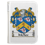 McKee Family Crest Kindle 3 Cases