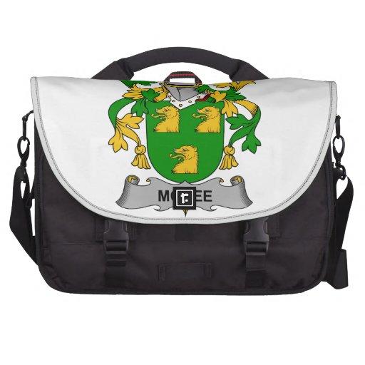 McKee Family Crest Laptop Messenger Bag
