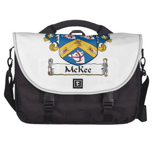 McKee Family Crest Laptop Computer Bag
