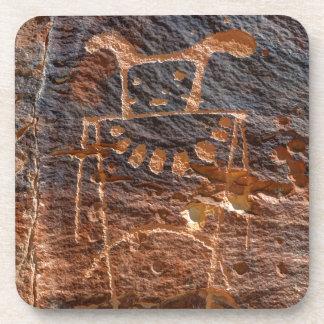 Mckee Springs Petroglyph - Vernal - Utah Drink Coaster