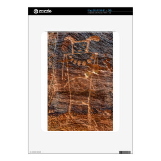 Mckee Springs Petroglyph - Vernal - Utah Skin For iPad