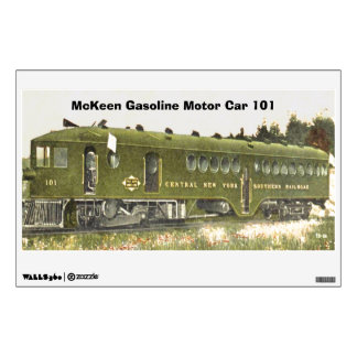 McKeen Gasoline Motor Car 101 Wall Decal