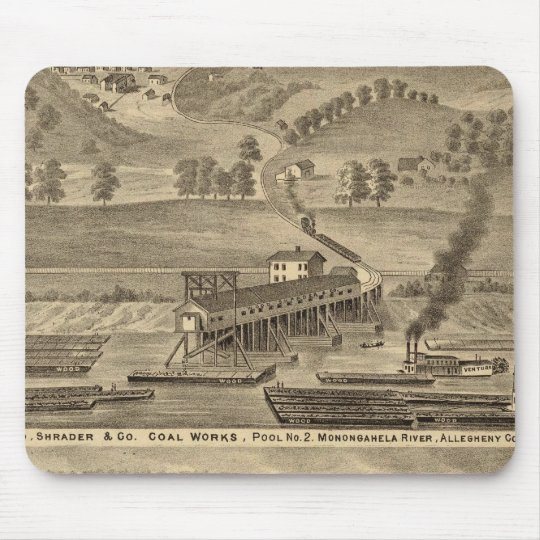 McKeesport Allegheny County, Pennsylvania Mouse Pad