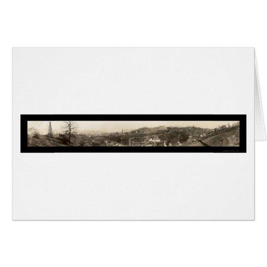 Mckeesport Oil & Gas Photo 1920 Card
