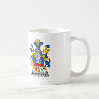 McKelvey Family Crest Coffee Mug