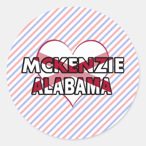 McKenzie, Alabama Etiqueta