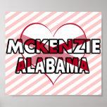 McKenzie, Alabama Impresiones