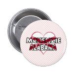 McKenzie, Alabama Pins