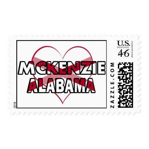 McKenzie, Alabama Franqueo