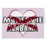 McKenzie, Alabama Tarjeton