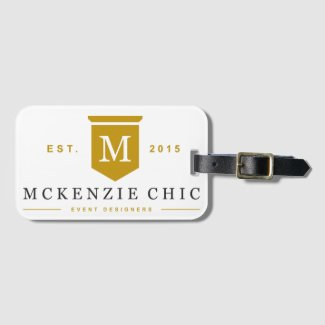 McKenzie Chic Luggage Tag