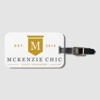 McKenzie Chic Luggage Tag