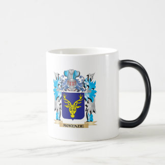 Mckenzie Coat of Arms - Family Crest 11 Oz Magic Heat Color-Changing Coffee Mug