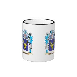 Mckenzie Coat of Arms - Family Crest Ringer Coffee Mug