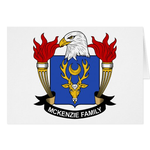 McKenzie Family Crest Greeting Card